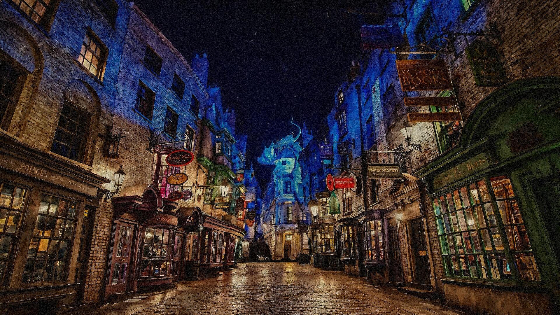 Harry Potter Zauberstab Wallpaper